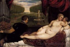 Venus And Organist And Cupid