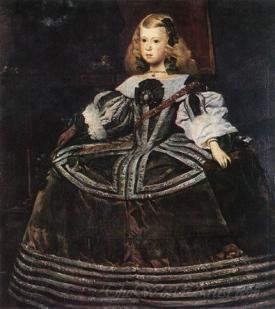 Infanta Margarita Teresa In A Blue Dress