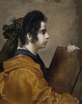 Sibyl Portrait Of Juana Pacheco