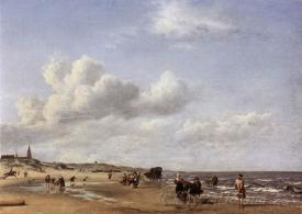 The Beach At Scheveningen