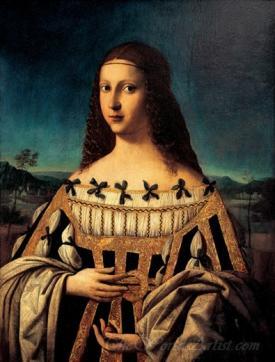 Ritratto Della Beata Beatrice Ii D Este  (Portrait Of The Blessed Ii Beatrice D Este)