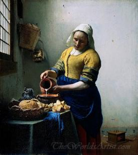 The Milkmaid  (The Kitchen Maid)