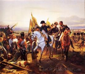 Napoleon At The Battle Of Friedland