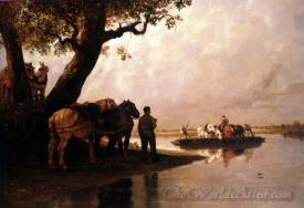 Le Passeur De Chevaux  (The Ferryman Of Horses)