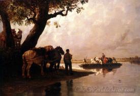 Le Passeur De Chevaux  (The Ferryman Of Horses)
