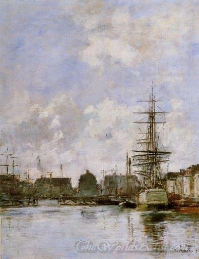 Le Havre Le Bassin Du Commerce