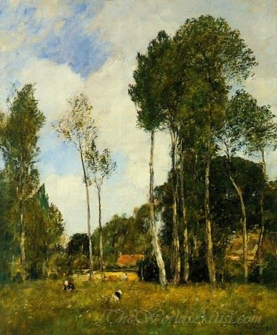 Oiseme Landscape Near Chartres