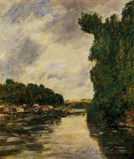 A River Near Dabbeville