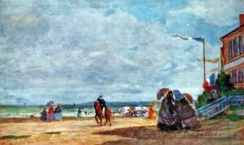 Beach Of Trouville