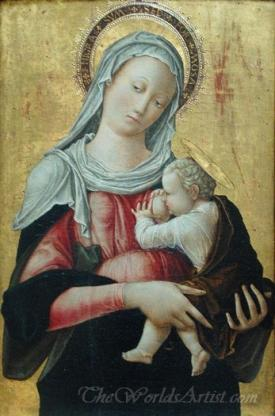 La Vierge Allaitant L Enfant  (The Virgin Nursing Child)