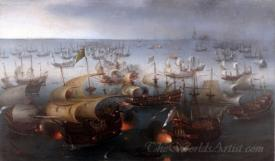 Day Seven Of The Battle With The Spanish Armada
