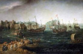 Ships Trading In The East