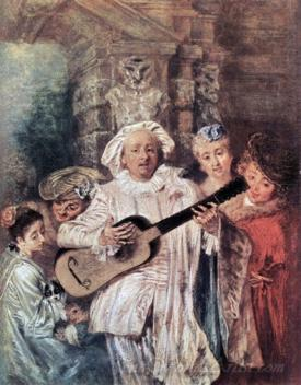 Gilles Pierrot And His Family