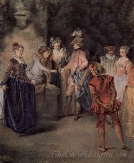 L Amour Au Theatre Francais  (The Love At The Theatre Francais)