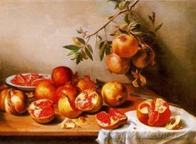 Bodegon De Las Granadas  (Still Life Of Pomegranates)