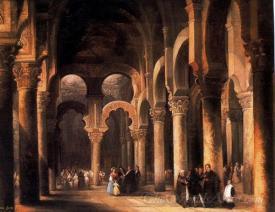 Interior De La Catedral De Cordoba  (Interior Cathedral Of Cordova)