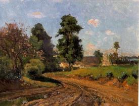 Le Chemin Pres De La Ferme  (Near The Way Farm)