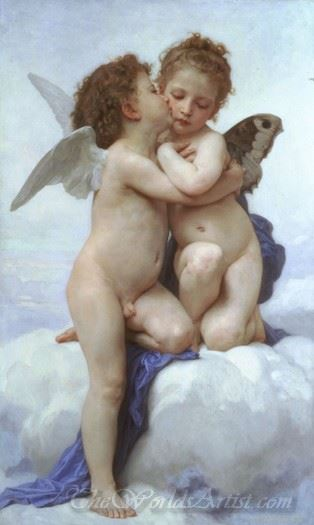 L'amour Et Psyché Enfants  (Cupid And Psyche As Children)