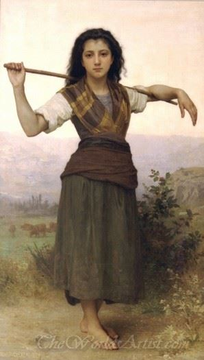 Pastourelle The Shepherdess