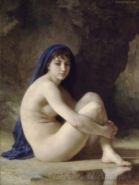 Baigneuse Accroupie Seated Bather