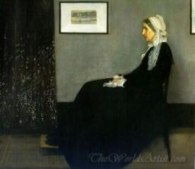 Arrangement In Grey And Black No1 Portrait Of The Artists Mother Whistlers Mother