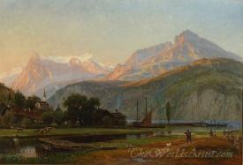 The Bay Of Uri Lake Lucerne