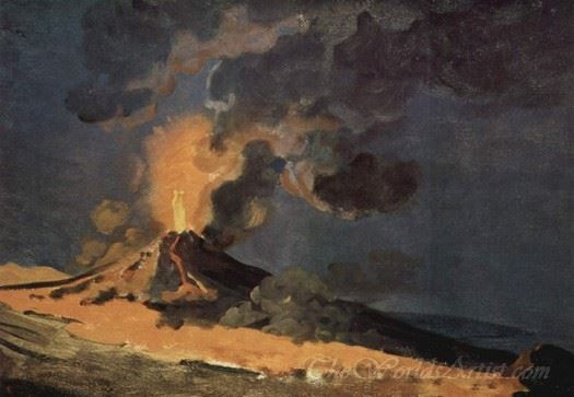 Eruption Of Mt Vesuvius