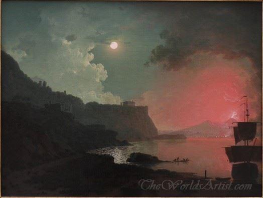 Vesuvius From Posillipo