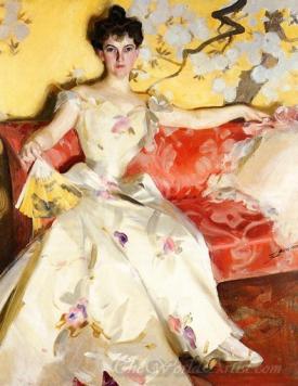 Portrait Of Elizabeth Sherman Cameron