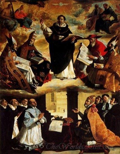 Apotheosis Of St Thomas Aquinas