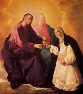 Desposorios Misticos De Santa Catalina De Siena  (Mystics Betrothal Of St. Catherine Of Siena)