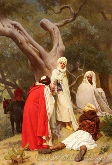 Reception Of An Emir