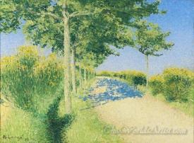 Paysage De Printemps  (Spring Landscape)