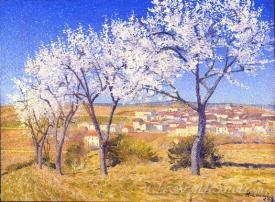 Amandiers  (Almond Trees)