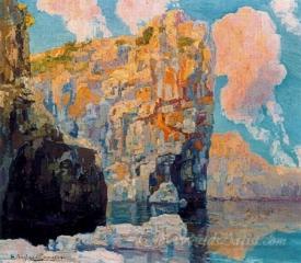 Acantilado En Formentor  (Cliff In Formentor)