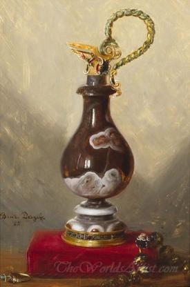 Still Life With Ewer And Jewels