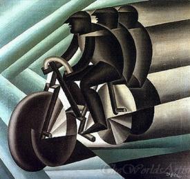 Ciclisti  (Cyclists)