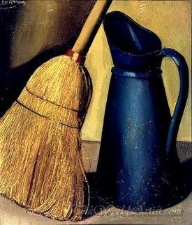 Broom And Pitcher