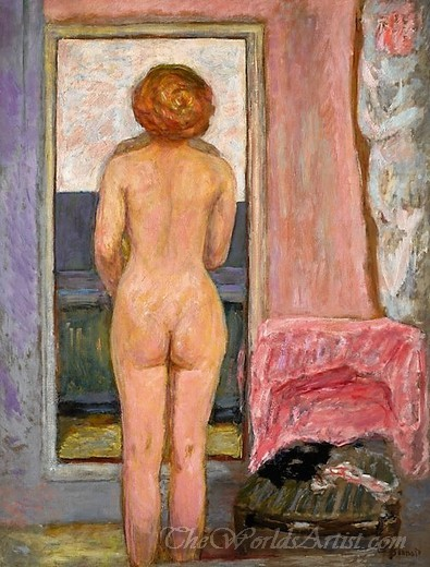 Femme Nue Vue De Dos  (Naked Woman Back View)
