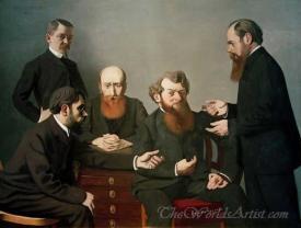 Cinq Peintres  (Five Painters)
