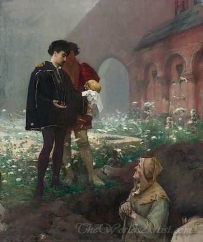 Hamlet Et Les Fossoyeurs  (Hamlet And Gravedigger)
