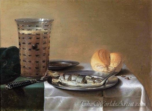 Herring With Bread And Beer