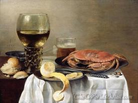 Nature Morte Au Crabe  (Still Life With Crab)