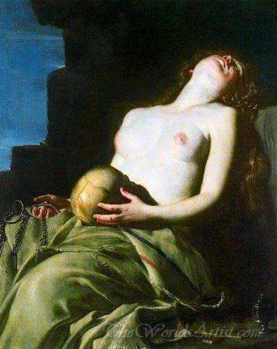 Maddalena Svenuta  (The Fainting Magdalena)