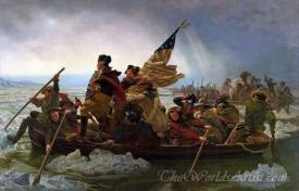 Washington Crossing The Delaware  (Use 429)