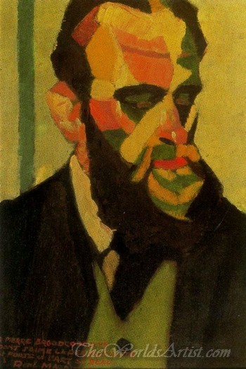 Portrait Of Pierre Broodcoorens
