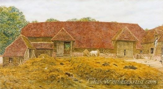 The Old Barn At Whitchurch