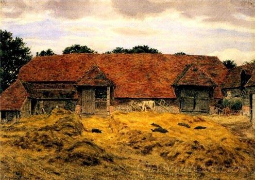Old Barn At Whitchurch Oxon