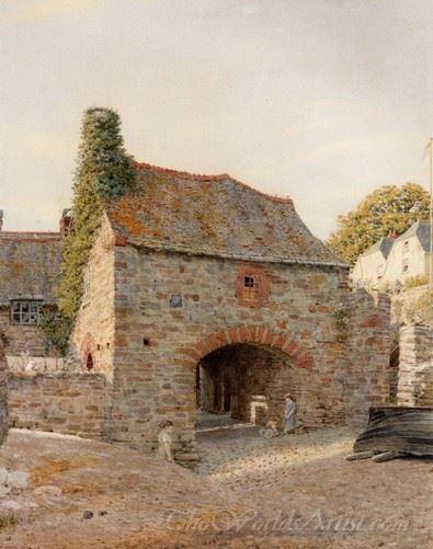Old Buildings At Kingswear South Devon