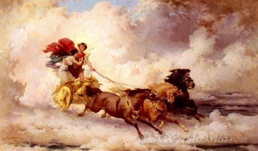 Apollo Abducting Cyrene